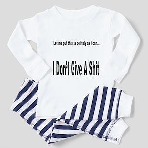 Politely as I can... Toddler Pajamas