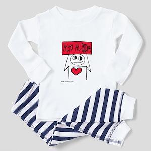 Alto Al SIDA Toddler Pajamas