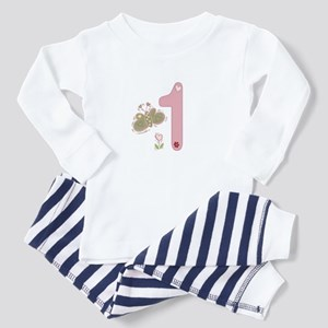"""Butterfly Birthday: 1"" Toddler Pajamas"