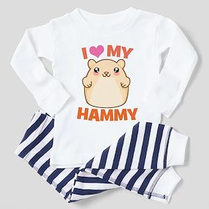 I Love My Hammy Toddler Pajamas