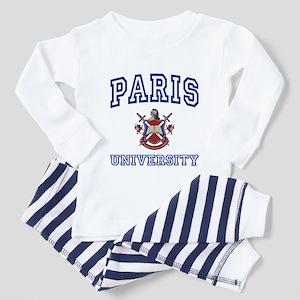 PARIS University Toddler Pajamas