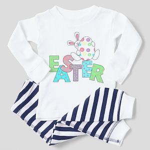 Bunny With Easter Egg Toddler Pajamas