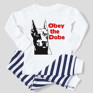 Obey the Dobe Toddler Pajamas