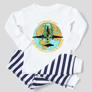Dragon Lady Toddler Pajamas