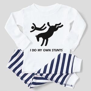 Horse I Do My Own Stunts Toddler Pajamas
