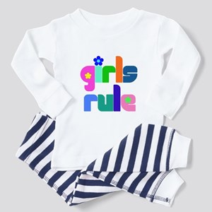 Girls rule Toddler Pajamas