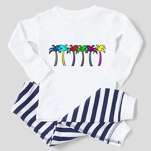 Palm Trees Toddler Pajamas