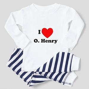 I Love O. Henry Toddler Pajamas