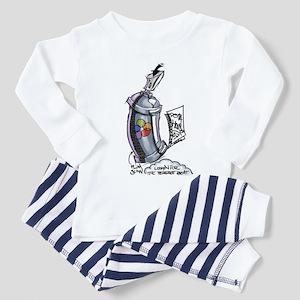Black Book Spray Can Toddler Pajamas