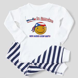 Puerto rican and American Toddler Pajamas
