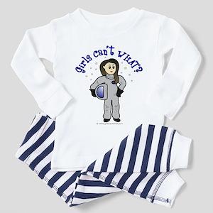 Light Astronaut Toddler Pajamas