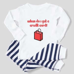 When Do I Get a Credit Card Toddler Pajamas