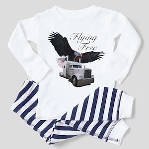 Flying Free Toddler Pajamas