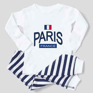 Paris France Toddler Pajamas
