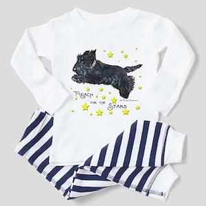 Scottish Terrier Star Toddler Pajamas