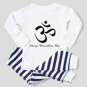 Om: Breathe & Be. Toddler Pajamas