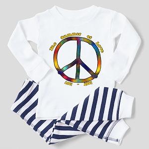 Summer of Love 1967 Toddler Pajamas