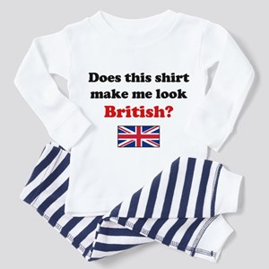 Make Me Look British Toddler Pajamas