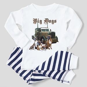 Big Dogs Toddler Pajamas