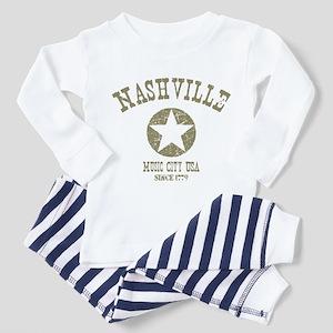 Nashville Since 1779 D4 Toddler Pajamas