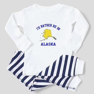 I'd Rather Be in Alaska Toddler Pajamas