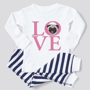 Love Pug - Toddler Pajamas
