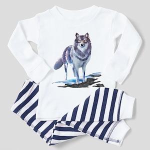 Wolf Toddler Pajamas