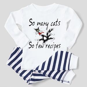 So Many Cats Toddler Pajamas