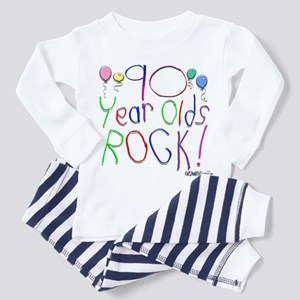 90 Year Olds Rock ! Toddler Pajamas