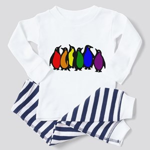 Rainbow Penguins Pajamas