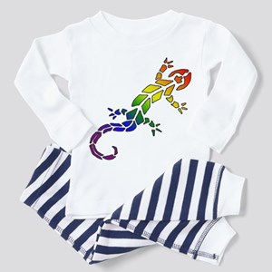 Rainbow Lizard Pajamas