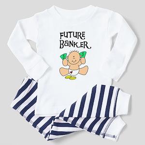 Future Banker Toddler Pajamas