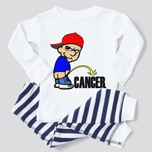Piss On Cancer Toddler Pajamas