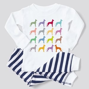 Multi-Great Danes  Toddler Pajamas