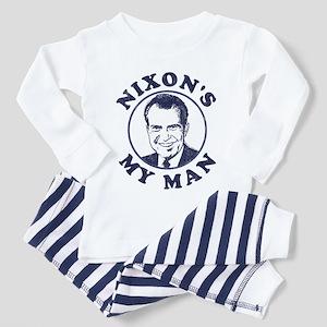 Nixon's My Man Pajamas Toddler Pajamas