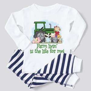 Farm Livin' (Girl) Toddler Pajamas
