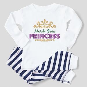 Mardi Gras Princess Toddler Pajamas
