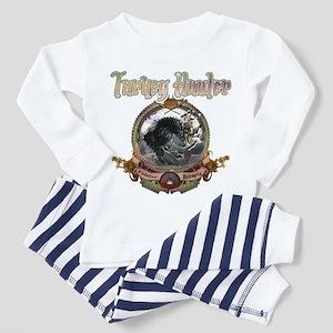 Turkey hunter Art Toddler Pajamas