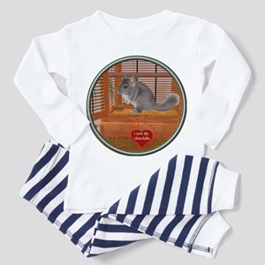 Chinchilla #1 Toddler Pajamas