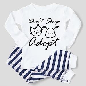 Don't Shop, Adopt Toddler Pajamas