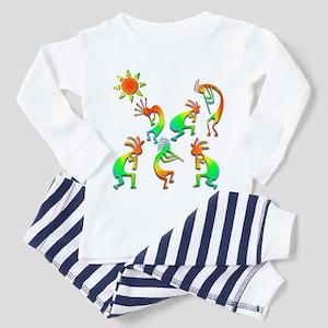 Kokopelli Sun Dance Toddler Pajamas
