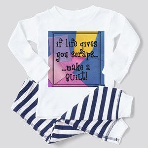 If Life Gives You Scraps - Qu Toddler T-Shi