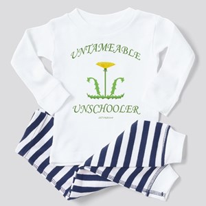 Untameable Unschooler Toddler Pajamas