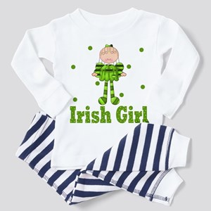 Irish Girl Ireland Pride Toddler Pajamas