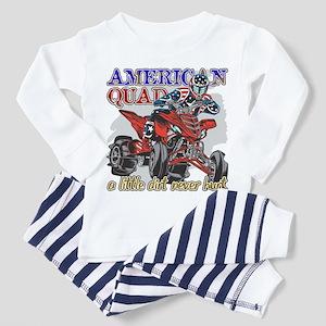 American Quad Toddler Pajamas