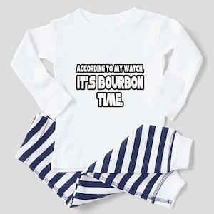 """It's Bourbon Time"" Toddler Pajamas"