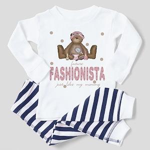 Future Fashionista Like Mommy Toddler Pajamas