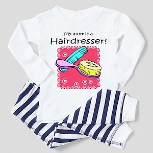 Hairdresser Aunt Toddler Pajamas