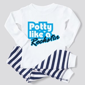 Potty Like A Rockstar Toddler Pajamas