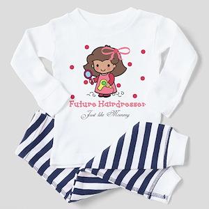 Hairdresser like Mommy Baby Toddler Pajamas